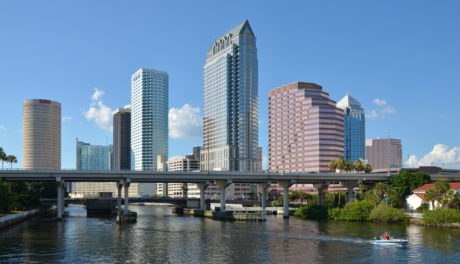Downtown Tampa Pop-Up Invisible Scavenger Hunt Run